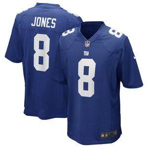 Men's New York Giants Daniel Jones Nike Jersey 8#